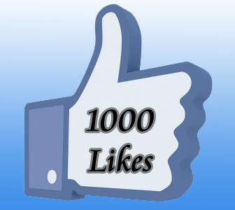 1000 lajkova