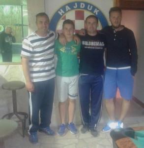 Jure Žižić, Mate Pavešković, Duje Pirić i Dado Pirić