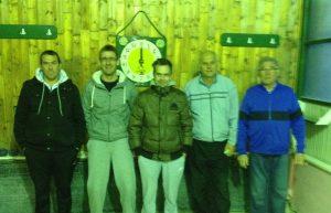Josip, Toni, Baćo (sudac), Branko Ugrin i Oluja