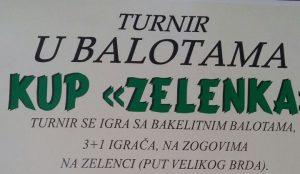 Zelenka Kup