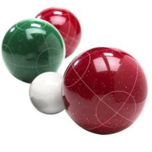 Bocce bowls u boji boće u boji